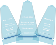 Stockopedia is the winner of Favourite Share Research Platform 2018, as voted for by private investors at Mello