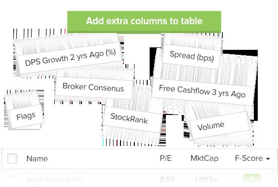 Stock Screener   Stockopedia
